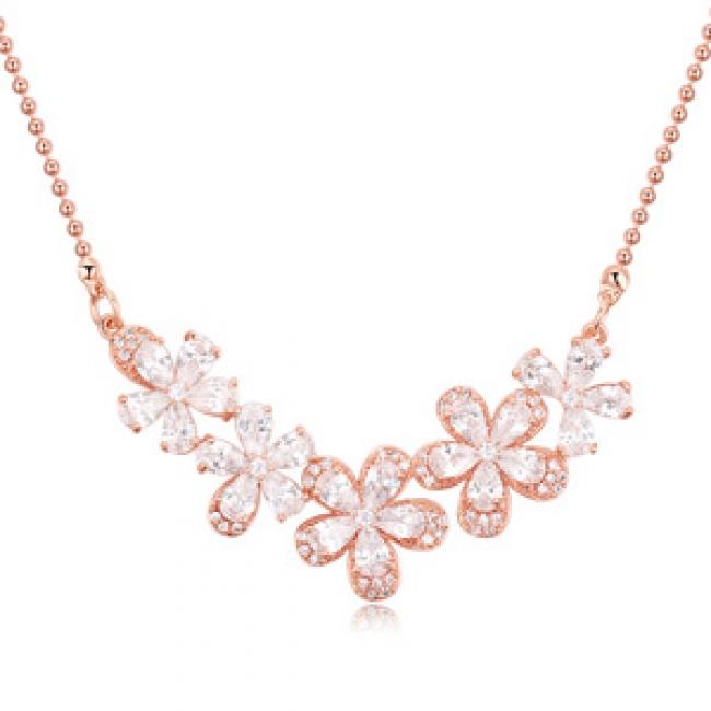 popular zircon necklace  22792
