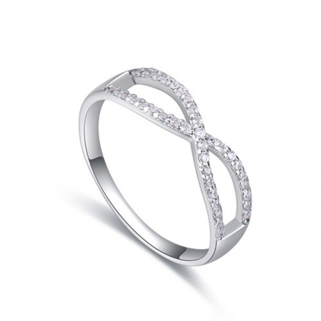 fashion silver ring QS22283
