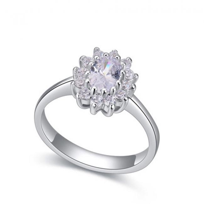 fashion silver ring QS22287