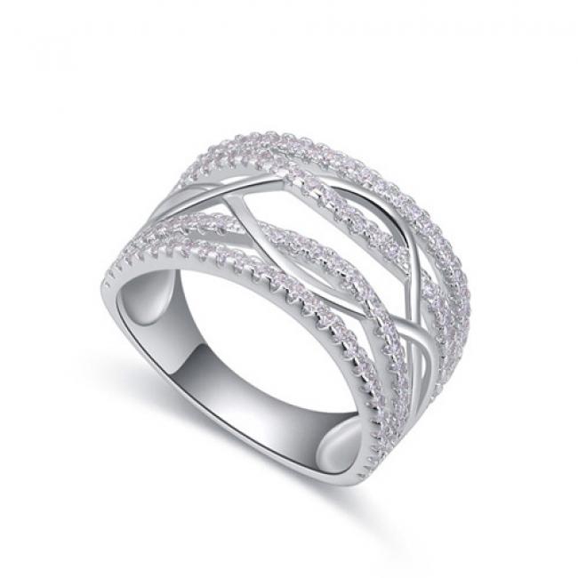 fashion siliver ring QS22288
