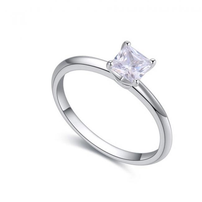 fashion silver ring QS22452