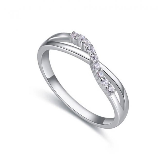 fashion silver ring QS22455