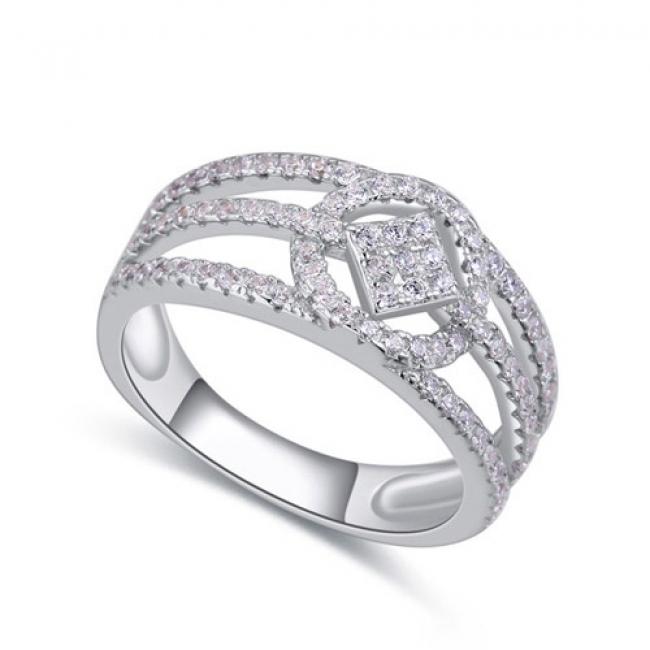 fashion silver ring QS22456