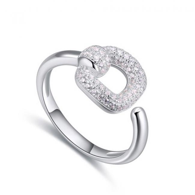 fashion silver ring QS22457
