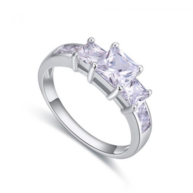 fashion silver ring QS22460