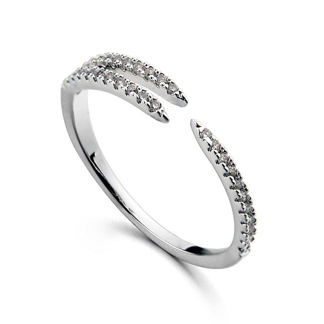 fashion zircon ring 115617