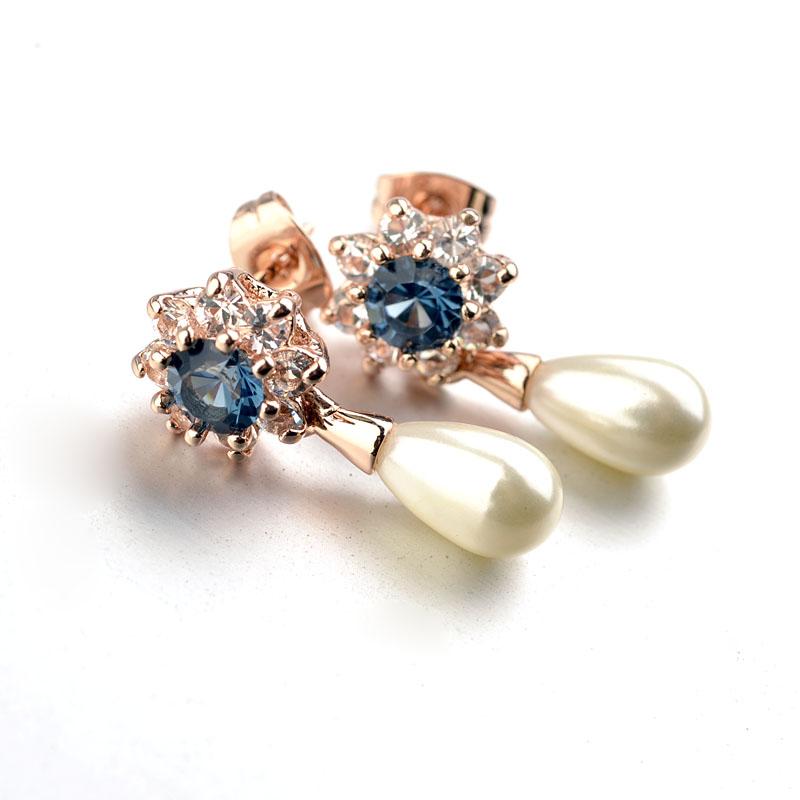 fashion zircon earring 122962