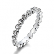 popular zircon ring AA20400