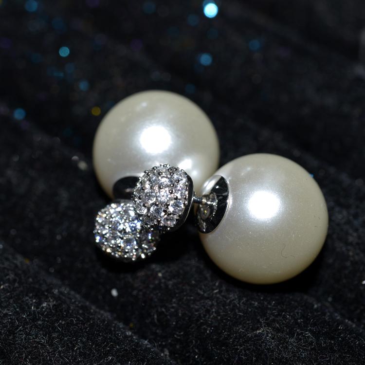 popular pearl earring DYZ005038