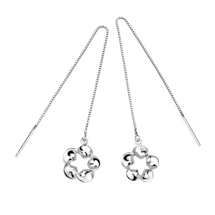 fashion silver earring wire 530308