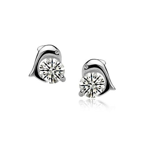 fashion silver earring 710509