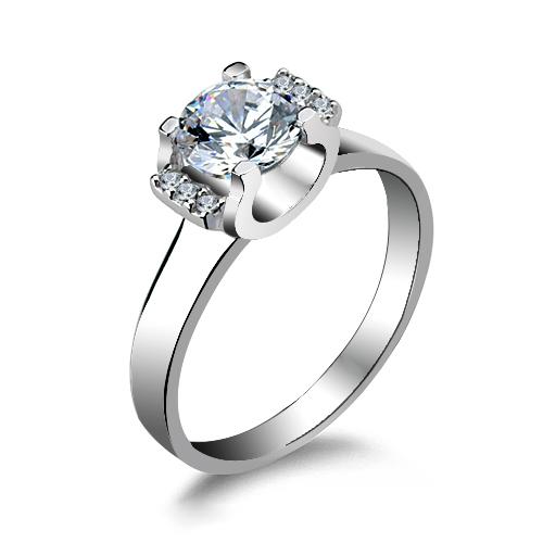 fashion silver ring SR1000