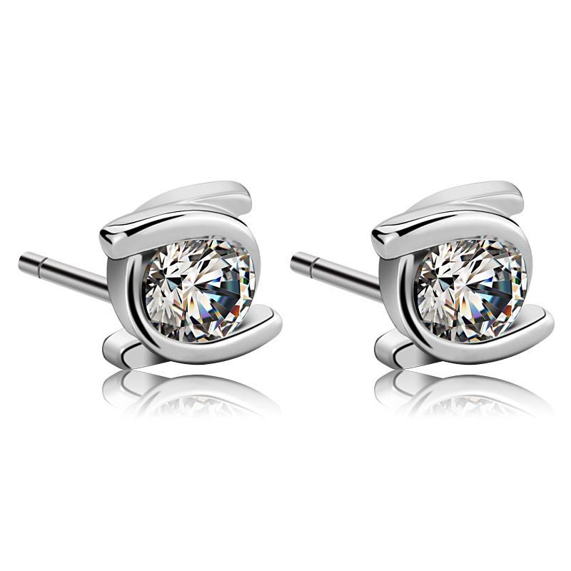 fashion silver earring SE0002