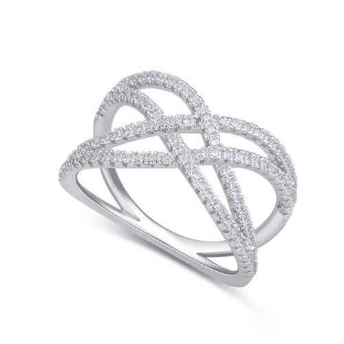 fashion silver ring QS22546