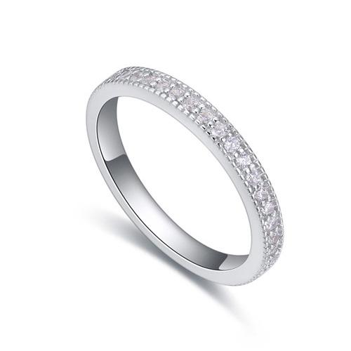 fashion silver ring QS22280