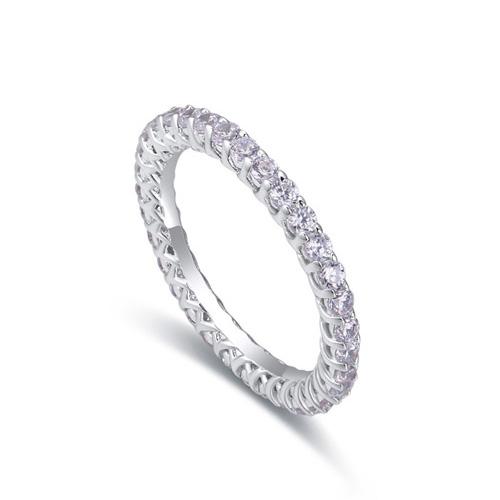 fashion silver ring QS22281