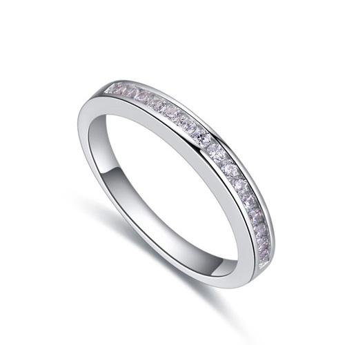 fashion silver ring QS22282