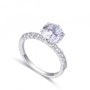 fashion silver ring QS22289