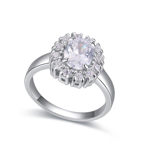 fashion silver ring QS22290
