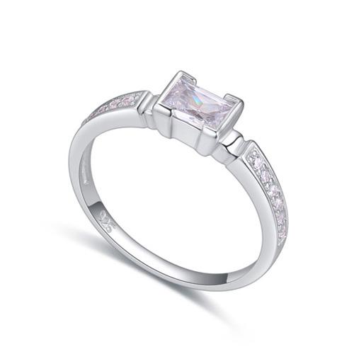 fashion silver ring QS22297