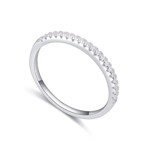 fashion silver ring QS22298