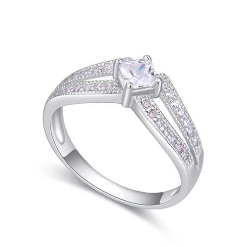 fashion silver ring QS22299