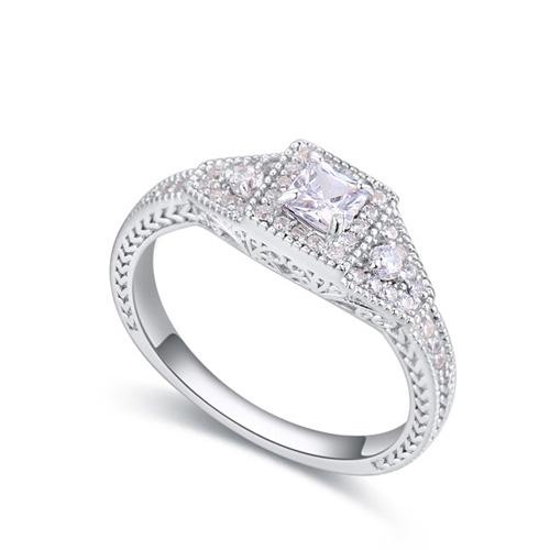 fashion silver ring QS22459