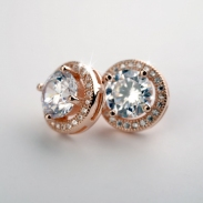 fashion silver earring 710857