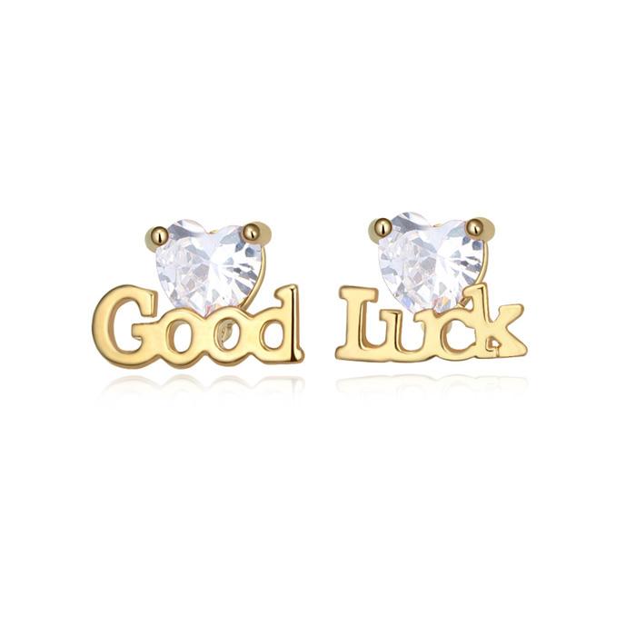 GOOD LUCK stud earring 1840873