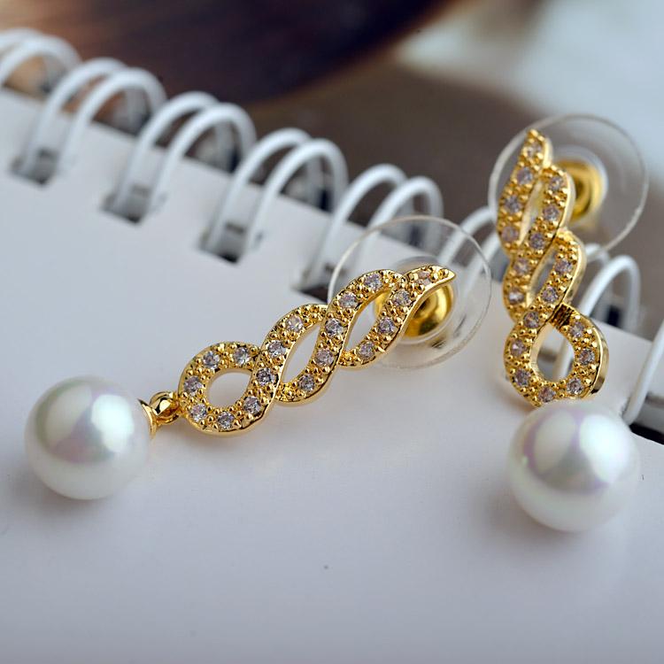 pearl earring 208014