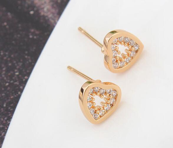 heart stud earring 208024