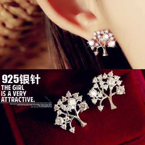 christmas tree earring 849200