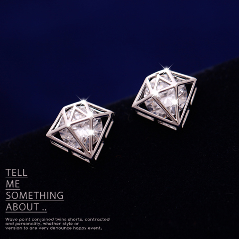 crown zircon earring  849200