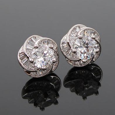 zircon earring 208011