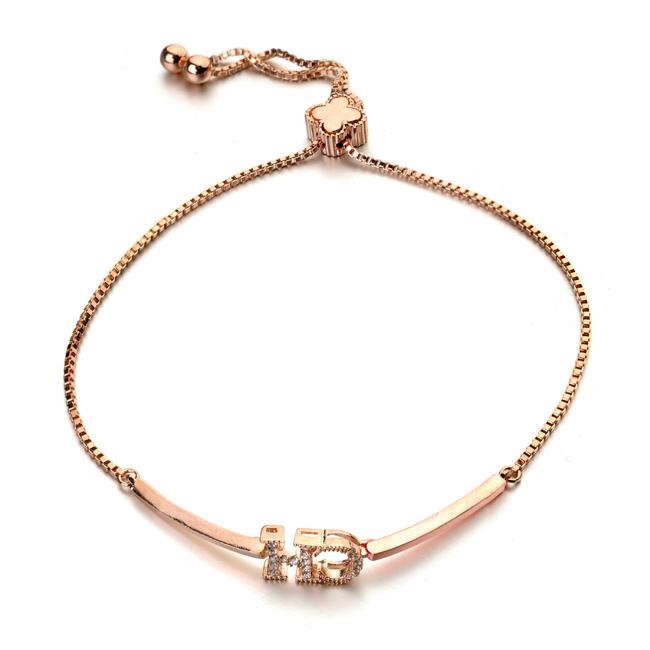 letter bracelet anklet  403000
