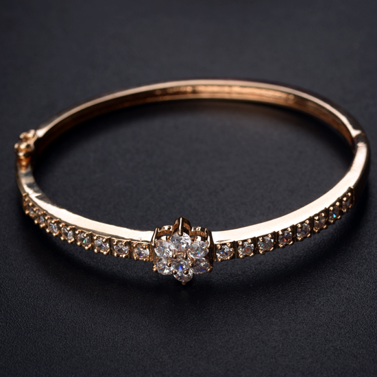 gold zircon bracelet  403001
