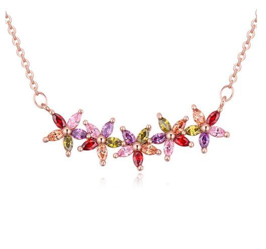 Austrian crystal necklace KY20471