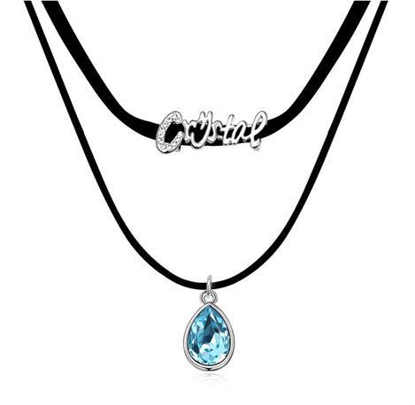 Austria crystal necklace SE15500