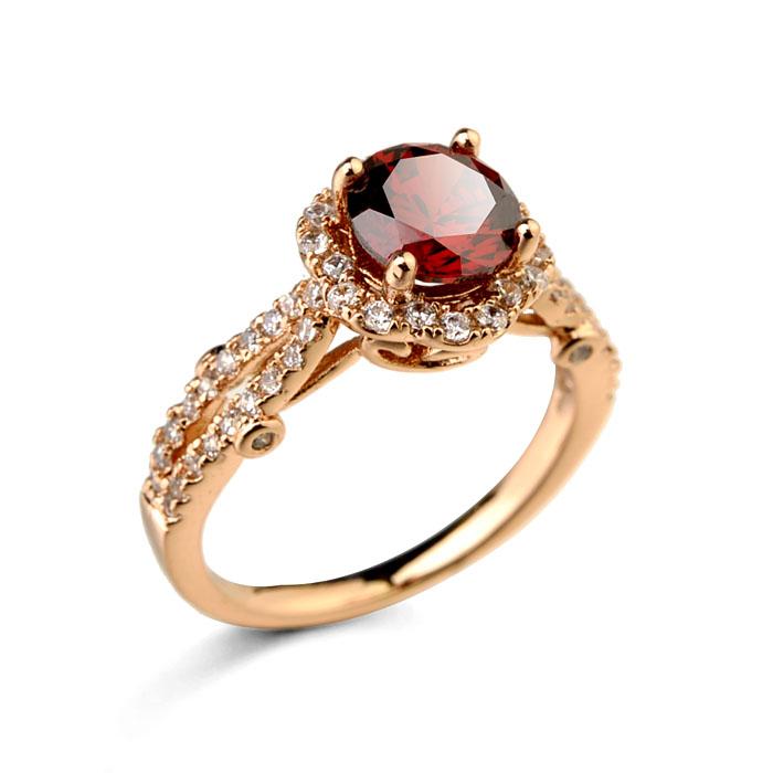 Fashion zircon ring  96961
