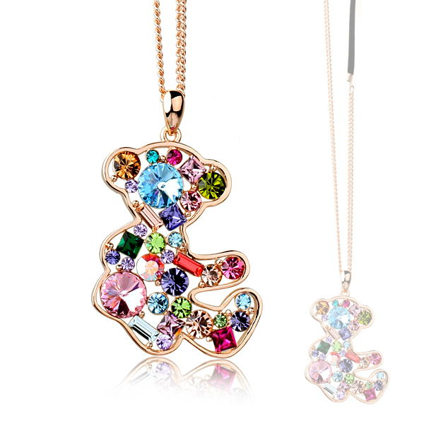 Austrian crystal costume necklace 61643