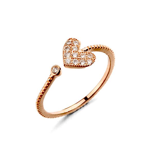 heart shape ring 311446