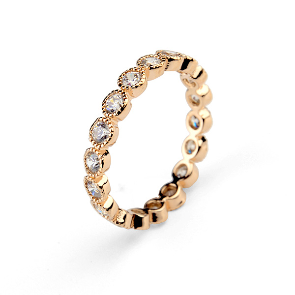band zircon ring 311425
