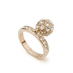 Austrian crystal ring 114344