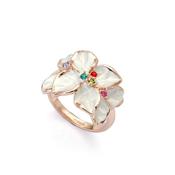 Austrian crystal ring 95676