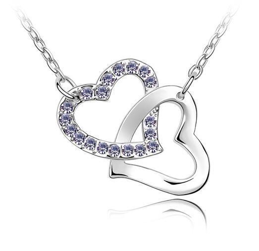 Austrian crystal necklace KY1671