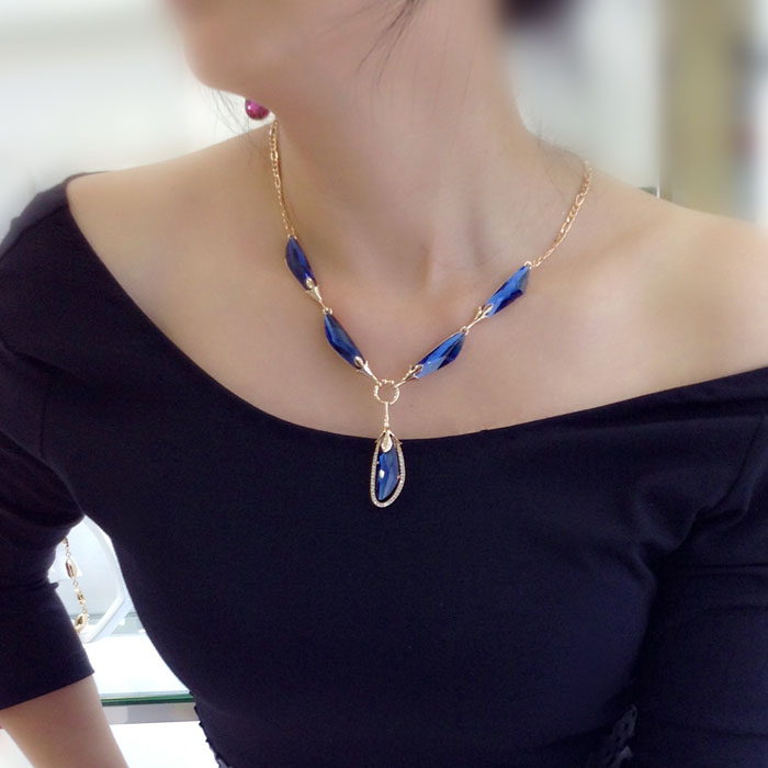 SWA crystal necklace 400703
