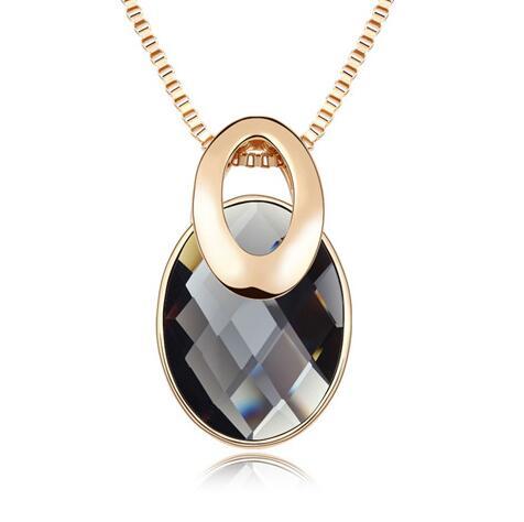 Kovtia  crystal long necklace HXA509442B