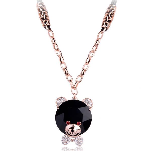 Kovtia  crystal long necklace HXA338742B