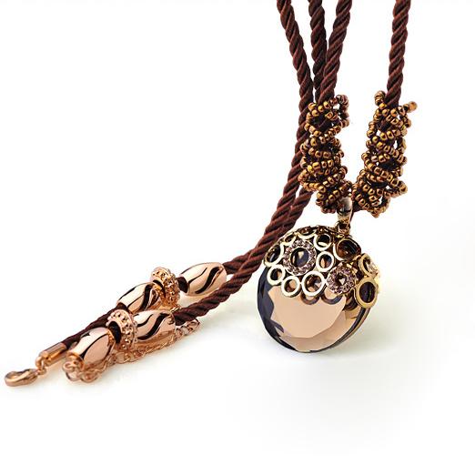 Kovtia  crystal long necklace HXA350242B