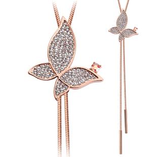 Kovtia crystal long necklace HXA501642B